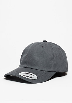 Baseball-Cap Low Profile Cotton Twill dark grey
