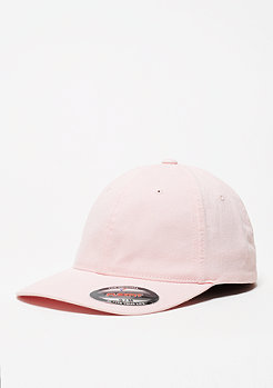 Baseball-Cap Garment Washed Cotton Dad pink