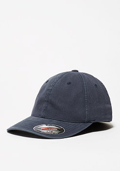 Baseball-Cap Garment Washed Cotton Dad navy