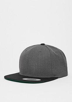 Snapback-Cap Classic 2-Tone charcoal/black