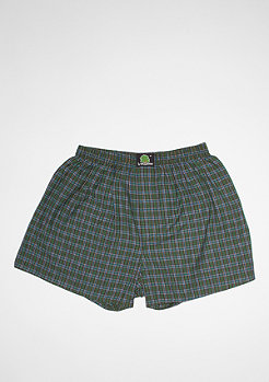 Plaid green/dark blue