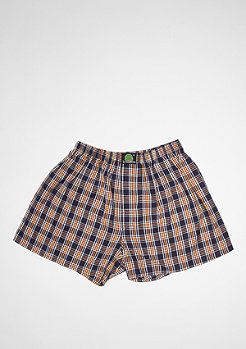 Boxershort Plaid dark blue/yellow/white