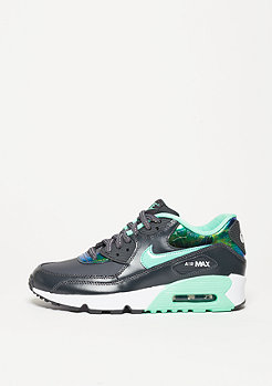 Air Max 90 SE Leather anthracite/green glow/pure platinum