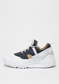 Air Huarache Utility white/metallic gold/dark obsidian
