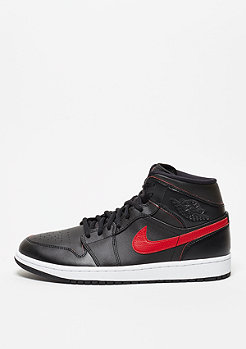 Air Jordan 1 Mid black/team red/team red
