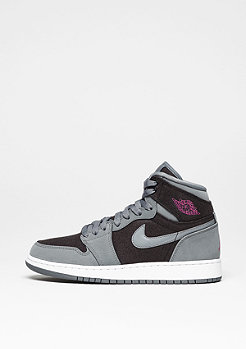 Basketballschuh Jordan 1 Retro High cool grey/vivid pink/black