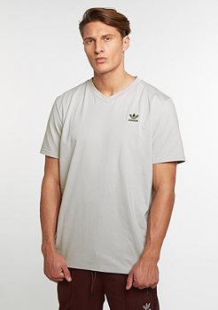 T-Shirt Boxy V clear granite
