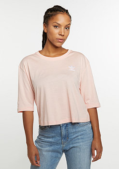 Blocked Tee vapour pink
