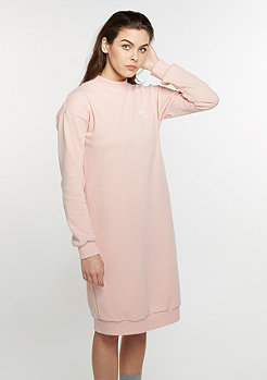 3 Stripes Crew Neck Dress vapour pink