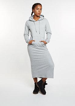 Kleid Maxi Hoody grey