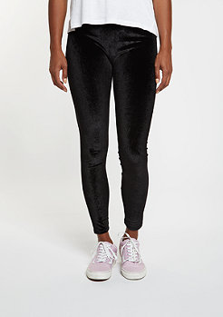 Leggings Velvet black