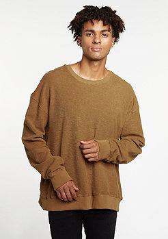 Sweatshirt Oversized Crew camel