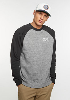 Sweatshirt Woodnurn II Fleece heather grey/washed black