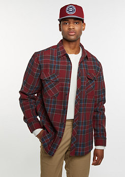 Bowerly Flannel burgundy