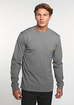 Pocket dark grey heather