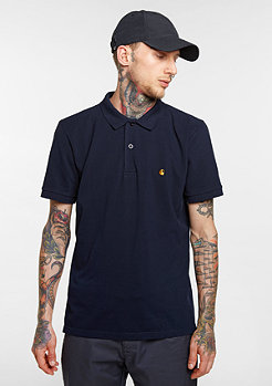 Slim Fit navy/gold