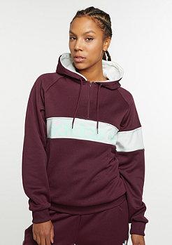 Hooded-Sweatshirt NY 1986 maroon
