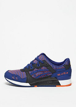 Schuh Gel-Lyte III blue print/orange