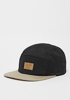5-Panel-Cap Grade black/tan
