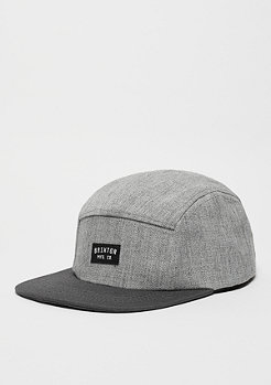 5-Panel-Cap Henrick light heather grey