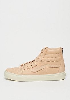 Skateschuh Veggie Tan Leather Sk8-Hi Reissue Zip DX tan