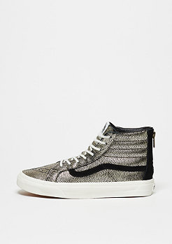 Skate-Schuh Sk8-Hi Slim Zip Gold Dots gold/blanc de blanc