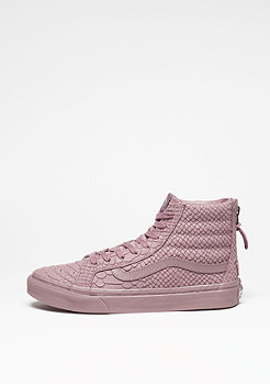 Sk8-Hi Slim Zip DX Mono Python twilight mauve