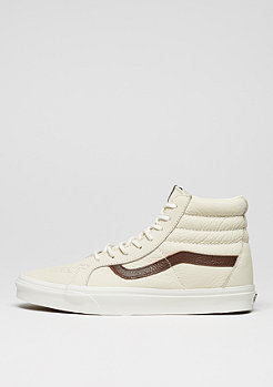 Skate Schuh Sk8-Hi Reissue Leather blanc de blanc/potting soil