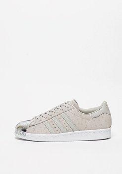 Superstar 80s Metal Toe clear grey/clear grey/metallic silve