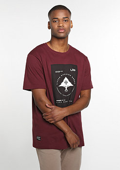 T-Shirt RC Life Roots deep maroon
