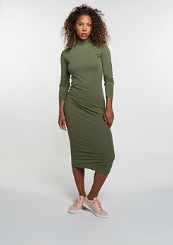 Turtleneck Longsleeve Dress olive