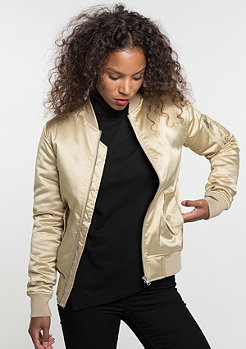 Satin Bomber gold