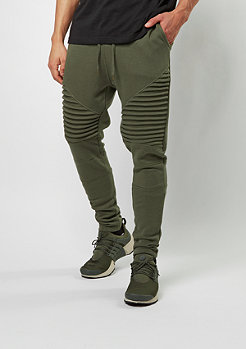 Trainingshose Pleat olive