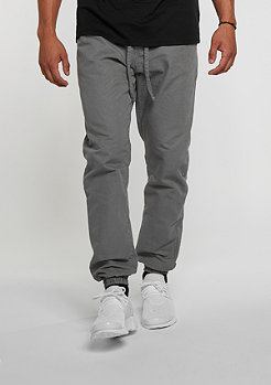 Trainingshose Washed Canvas grey