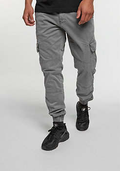Trainingshose Washed Cargo Twill grey