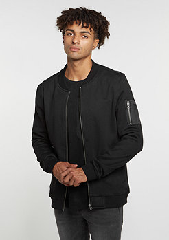 Übergangsjacke Sweat Bomber black