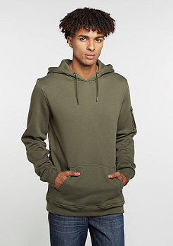 Hooded-Sweatshirt Sweat Bomber olive