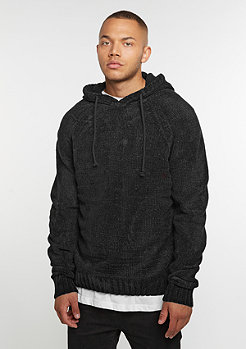 Chenille Hooded black