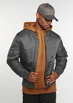 Basic Bomber cool grey