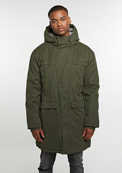 Cotton Peach Canvas Parka olive