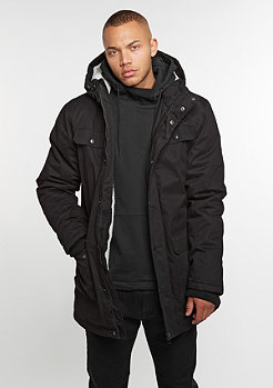 Heavy Cotton Parka black
