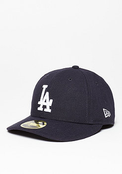 New Era Fitted-Cap Low Crown 59Fifty MLB Los Angeles Dodgers navy/white