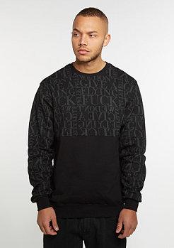 Sweatshirt WeDon't Give A * black