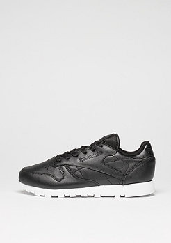 Reebok Schuh Classic Leather Pearlized black/white