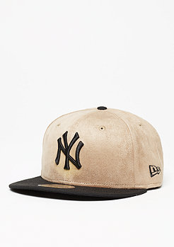 Seasonal Suede Crown MLB New York Yankees wheat/black
