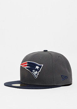 Fitted-Cap Ballistic Visor NFL New England Patriots navy