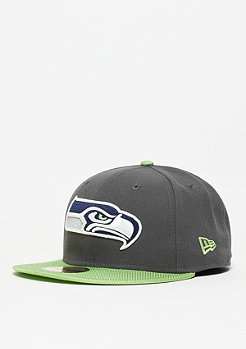 Fitted-Cap Ballistic Visor NFL Seattle Seahawks green