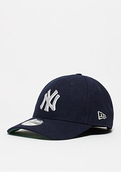 Baseball-Cap Wool Felt Logo MLB New York Yankees navy