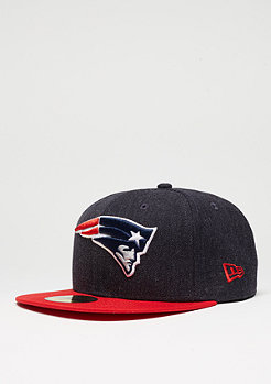 Fitted-Cap Heather Team NFL New England Patriots red
