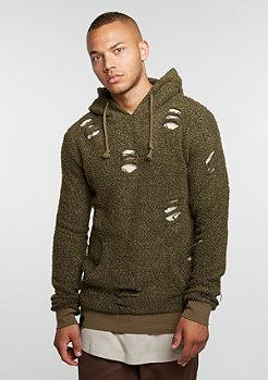 Hooded-Sweatshirt Flake olive/olive